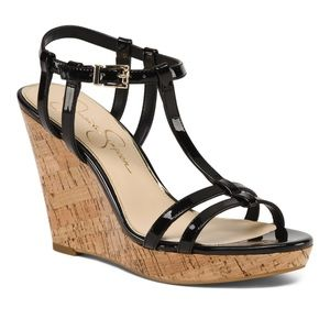 NEW // Jessica Simpson wedges - NWT!